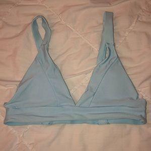 Light Blue Zaful Bikini Top